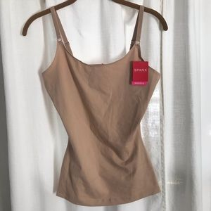 NWT Spanx Nude Natural Compression Tank
